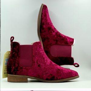 NIB TOMS 'ELLA' ankle boots